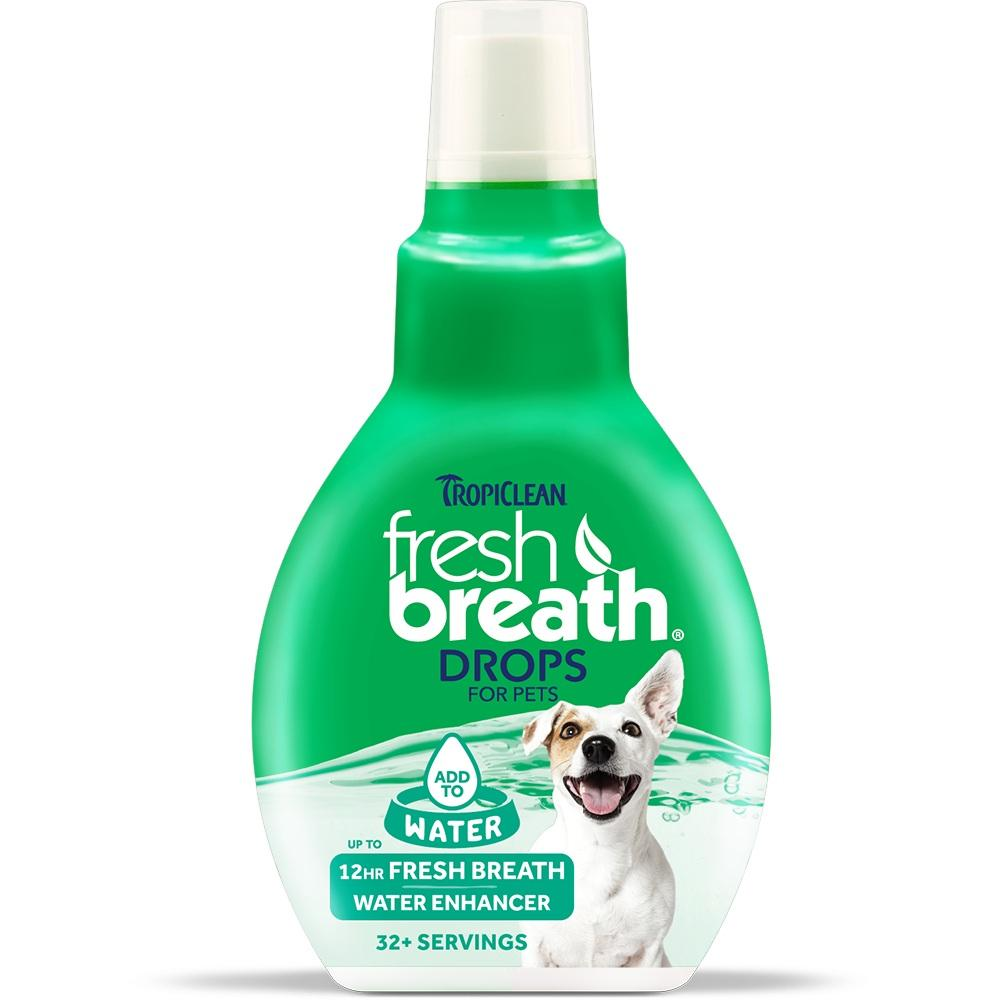 Tropiclean Fresh Breath Drops For Pets | Singpet.Com