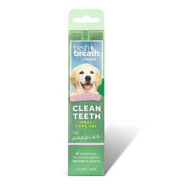 Tropiclean Clean Teeth Oral Care Gel For Puppies | Singpet.Com