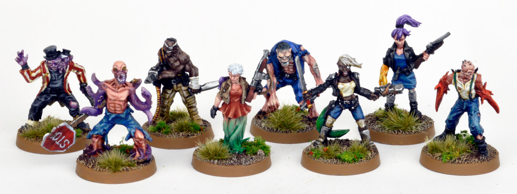 Downwinder Mutant Warband