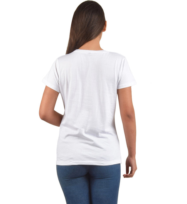 Plain White Tshirt For Women