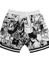 Manga Mash up Shorts