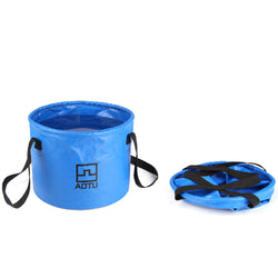 Multi functional Folding Bucket For Camping Hiking Live Fishing Water Storage - Pro Gear Fishing Reels
