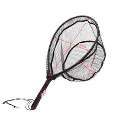 Fly Fishing Landing Net Nylon with ABS Handle Aluminum Alloy Frame - Pro Gear Fishing Reels