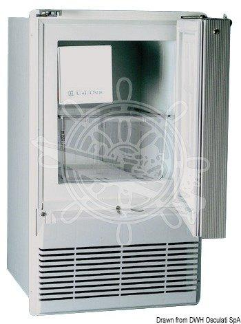 Automatic ice maker 220 V white