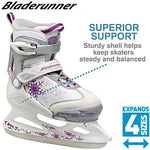 Bladerunner Micro G Ice Girls' Ice Skates White/Pink 5