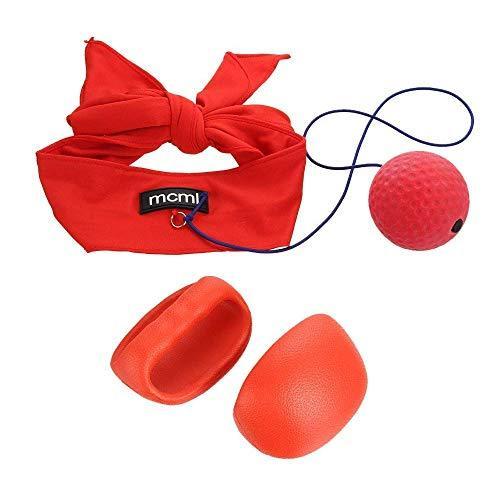 Boxing Reflex Ball Winter Indoor Fitness Training Reactions and Speed Sports Portable Gym Boxer Fight Punching Ball with Head Band and Gloves Decompression Equipment