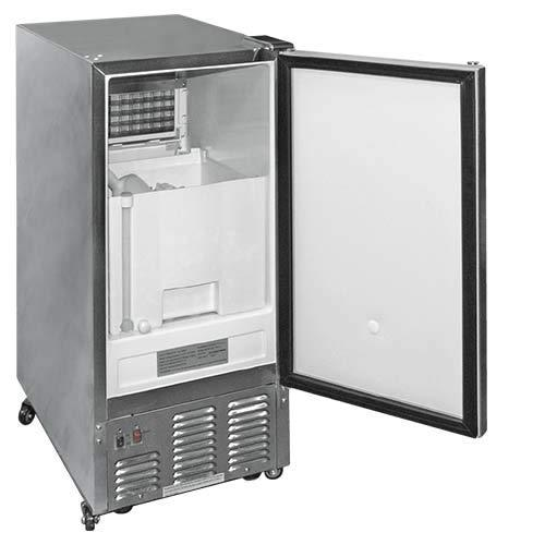 Cal Flame 089245002697 Outdoor Rated Stainless Steel Ice Maker