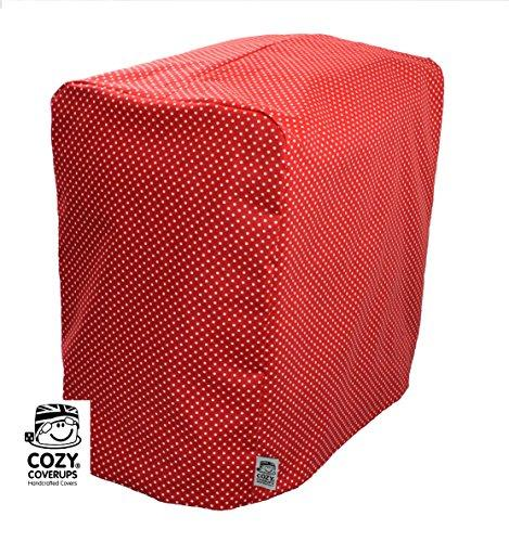 Cozycoverup® Dust Cover for Panasonic Breadmaker 2500/2501/2502 in Red Spot