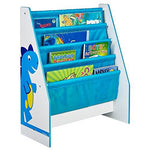 Dinosaurs Kids Sling Bookcase - Bedroom Storage by HelloHome
