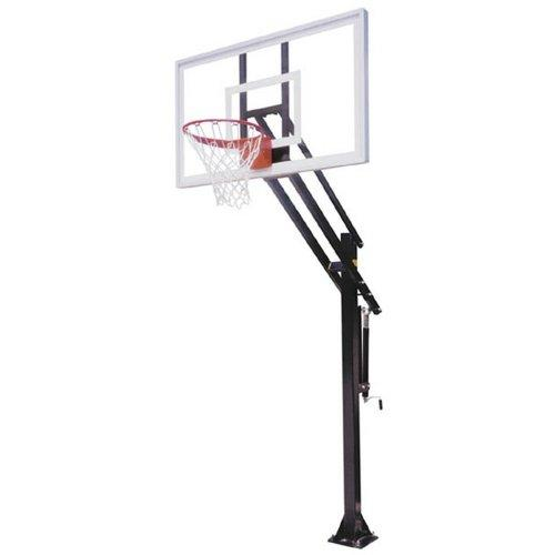 First Team Attack Select In-Ground Basketball Hoop with 60 Inch Acrylic Backboard