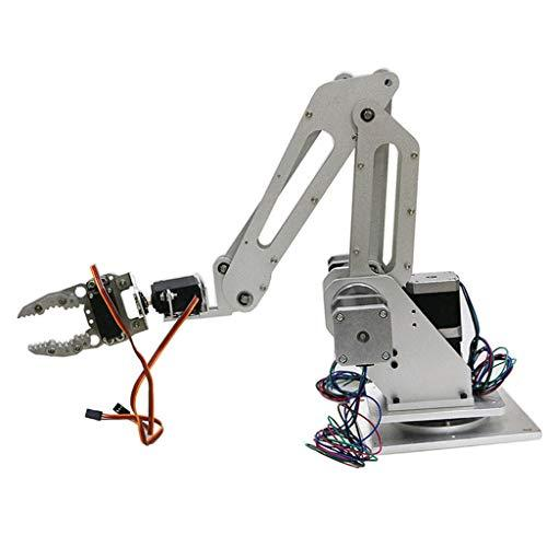 FLAMEER 3 Axis Robot Manipulator Arm Claw Kit with Gripper Motor Servo For 3D Printer Controller Kit