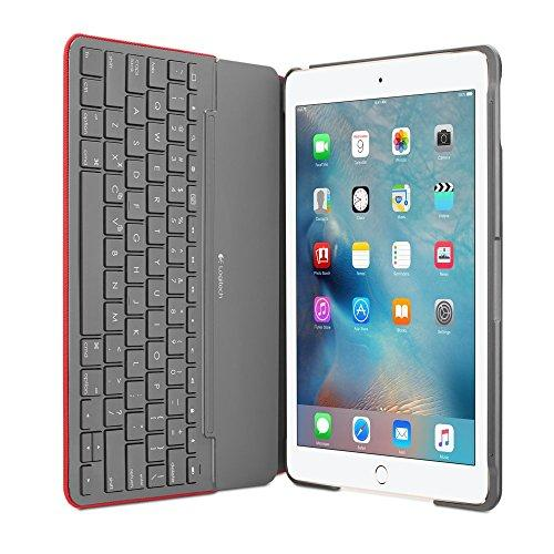 Logitech Canvas Keyboard Case for iPad Air 2 - RED UK Layout (Red) …