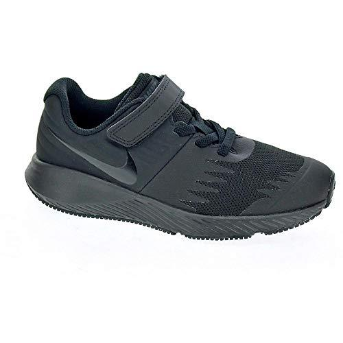 Nike Boys Star Runner (PSV) Running Shoes, Black/Volt 005, 2.5 UK 2/3UK Child