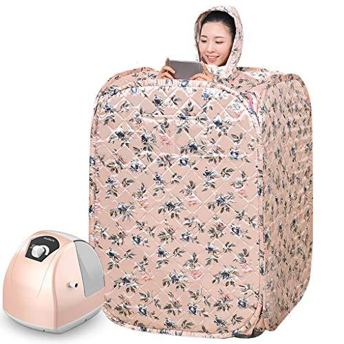 Portable Steam Sauna Tent Box-Small Size, Foldable, Easy To Carry-Loss Weight,Spa Healthy Detox-With Wireless Remote Control- Easing Fatigue And Reducing Stress-Double Fumigation Machine