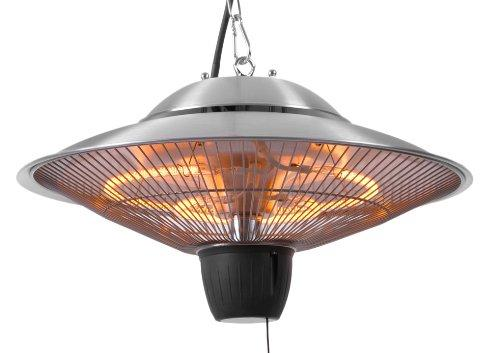 Primrose Firefly 1.5kW Ceiling Hanging Electric Halogen Outdoor Patio Garden Heater - IPX4