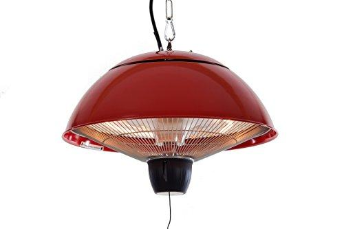 Sunred La Hacienda Hanging Patio Red Halogen Heater