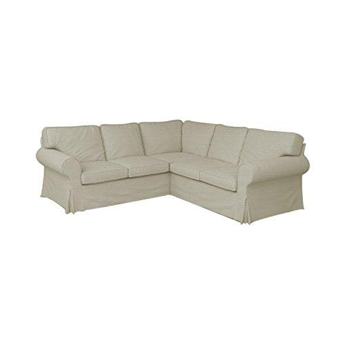 TLYESD Ektorp 2+2 Sofa Cover Replacement Cutomoized for IKEA Ektorp 4 Seat Sectional Slipcover