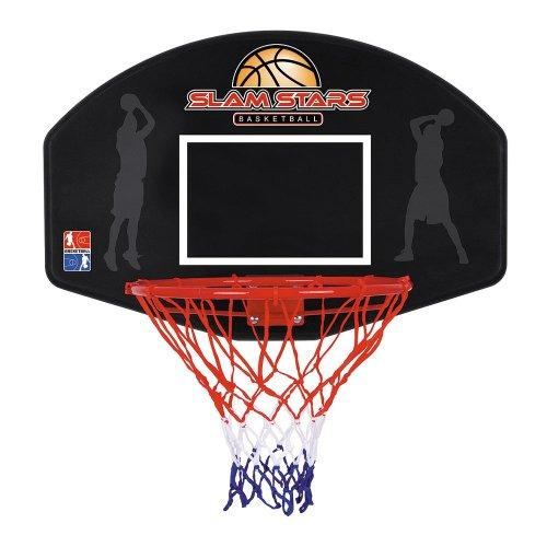 Toyrific SLAM STARS HOOP & BACKBOARD CHILDRENS ADULTS JUNIOR WALL MOUNTABLE BASKETBALL