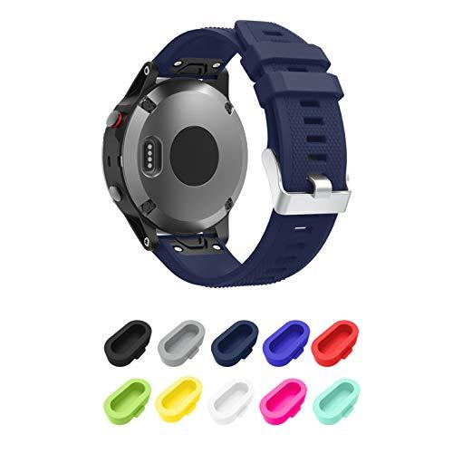 Younsea Replacement for Fenix 5 Band, Easy Fit 22mm Width Soft Silicone Watch Strap for Fenix 5/Fenix 5 Plus/Forerunner 935/Approach S60/Quatix 5 Smart Watch