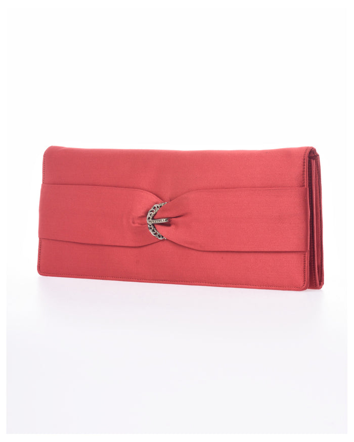 1960s Silk Evening Clutch Purse-Cavalli e Nastri