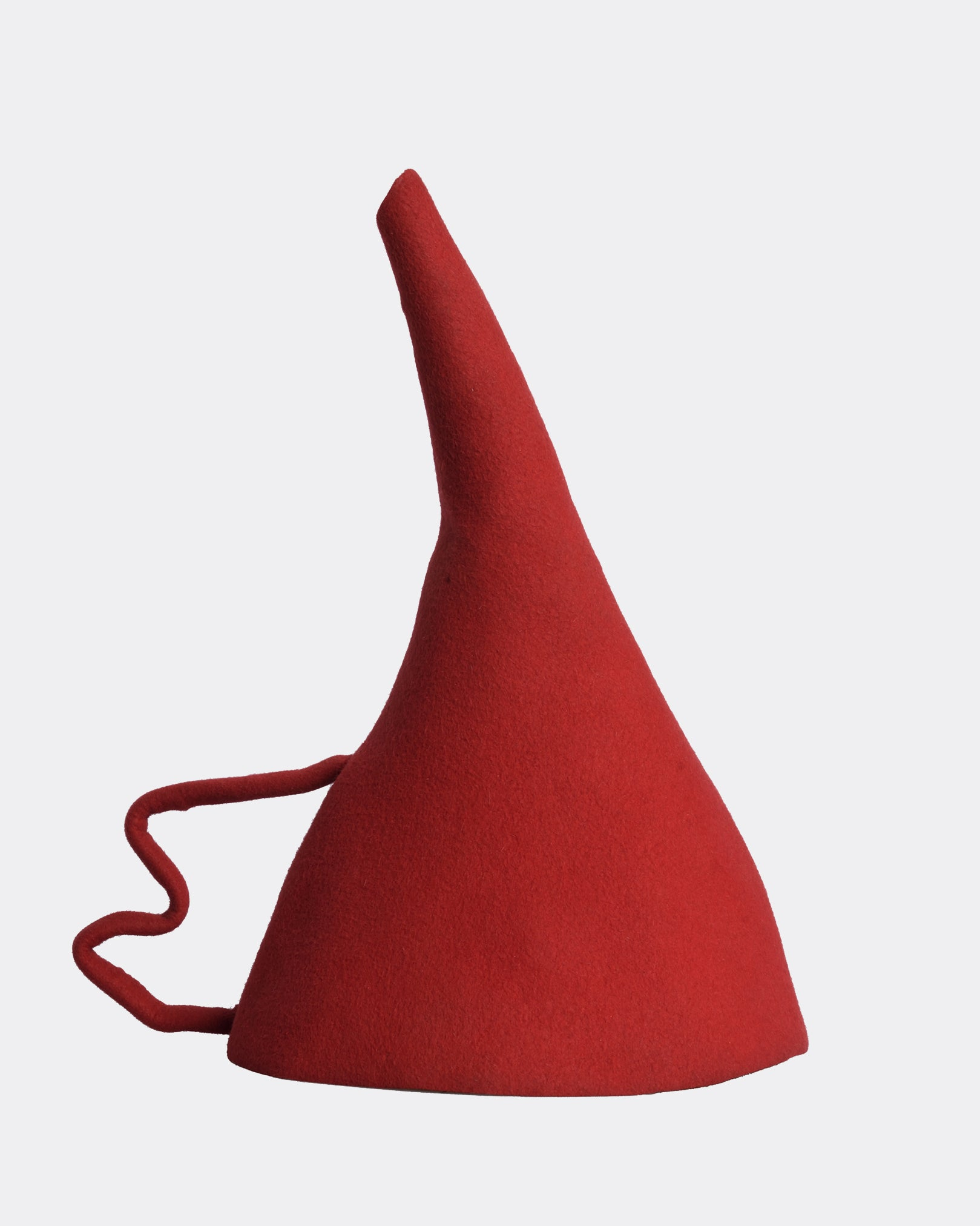 MOSCHINO Red Funnel Hat