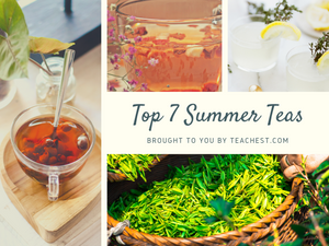 2019's Top 7 Refreshing Summer Teas