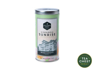 Veranda Sunrise Loose Tea - Moana Surfrider Collection from teachest.com