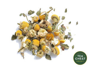 Chamomile Mint Loose Tea from teachest.com