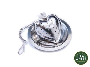Heart Infuser with Caddy from TeaChest.com