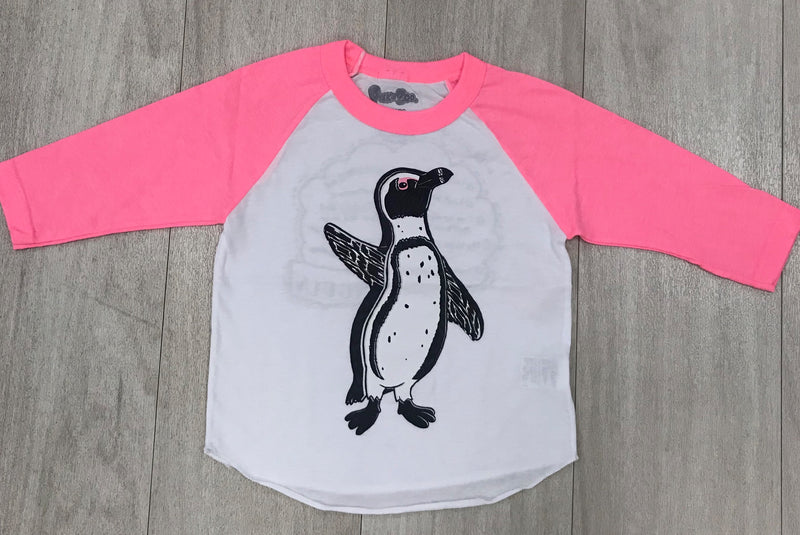 Peek-a-Zoo Hot Pink Penguin