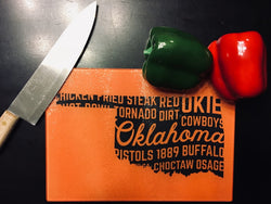 OSU - Rectangle Glass Cutting Board
