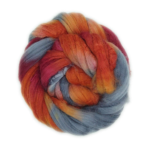 Pendleton Colorway;<br>Mixed Merino-Silk Fiber