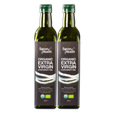 spoon health organic extra virgin coconut oil cold pressed 1 liter