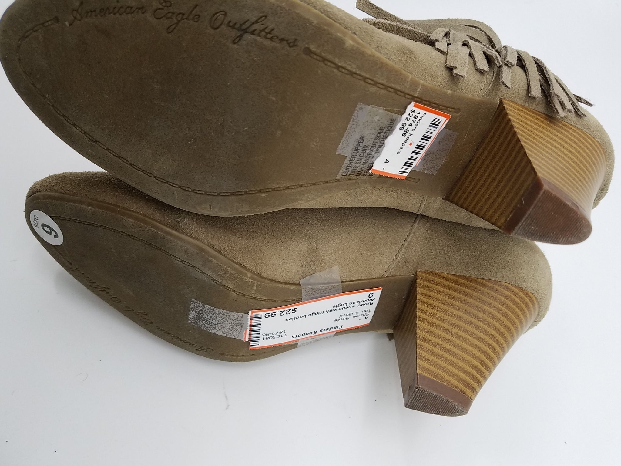 American Eagle  Tan Shoes, Boots
