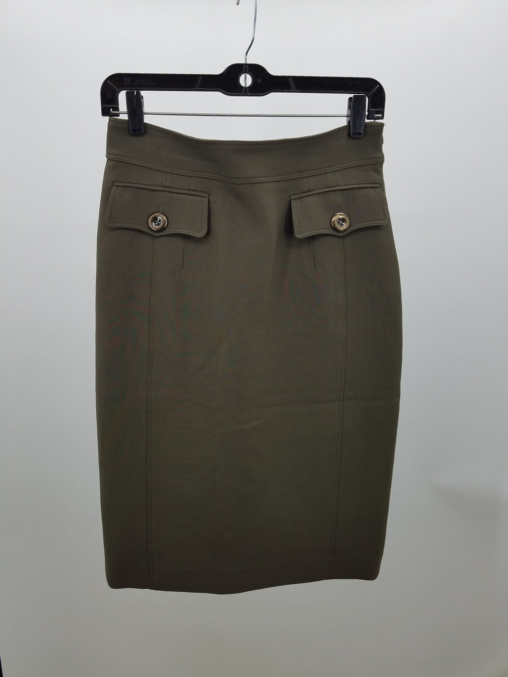 Burberry Green Skirt