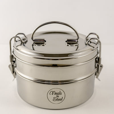 Stainless Steel Double Layer Tiffin
