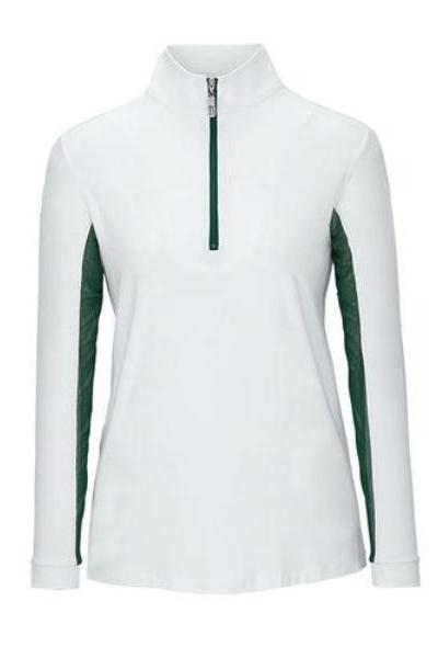 Tailored Sportsman Ice Fil Top : White w/ Accent Colors