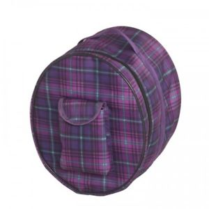 centaur helmet bag orchid plaid