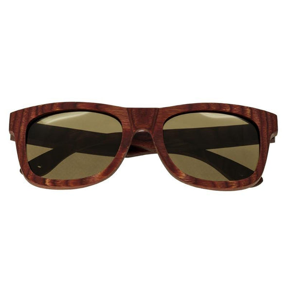 Spectrum Irons Wood Polarized Sunglasses - Cherry/Brown SSGS105BN