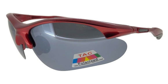 P7395QS Red Polarized Sport TAC Lens Sunglasses