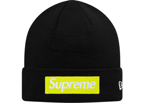 Supreme New Era Box Logo Beanie (FW17) Black
