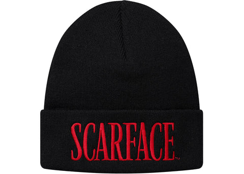 Supreme Scarface Beanie Black