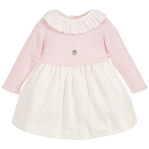 Granlei Knitted Star Dress - Arabella's Baby Boutique