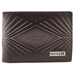 Hurley - Mens 4D Wallet - Black-Magic Toast