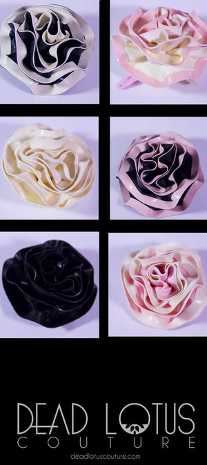 Rose Flower Hair Clips - Big