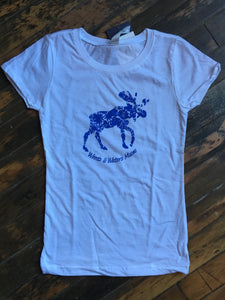Flowery Moose - Youth T-Shirt
