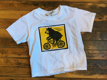 Bear on bicycle - Toddler Youth T-Shirt