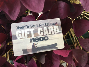 $25 PREPAID GIFT CARD for River Drivers Restaurant