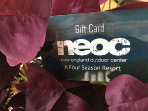 $25 PREPAID GIFT CARD for NEOC (New England Outdoor Center)