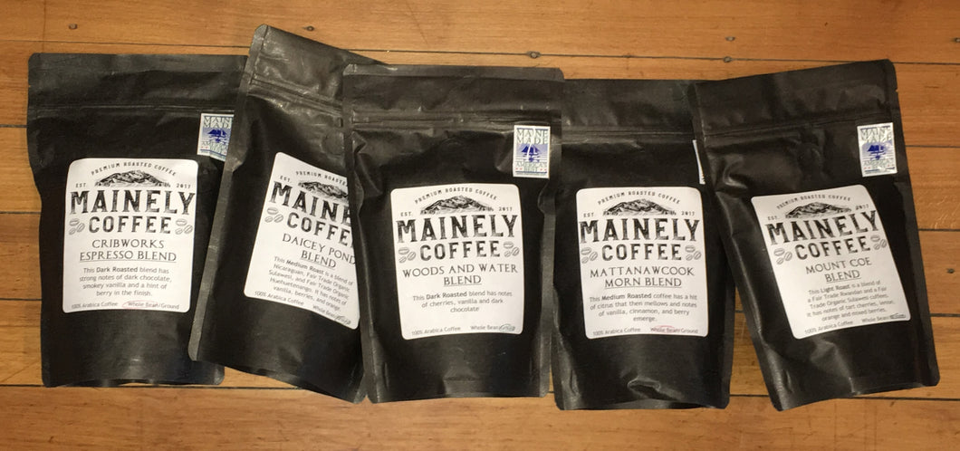 Mainely Coffee - Assorted varieties